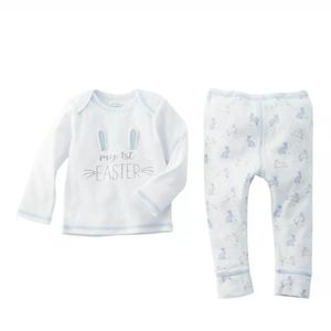 Mud Pie My First Easter Two-Piece Set Boy 0-3 M